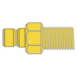 Water Connector Fittings - Male